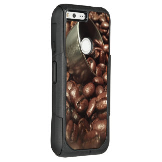 Roasted Coffee Beans With Silver Scoop Photograph OtterBox Commuter Google Pixel XL Case