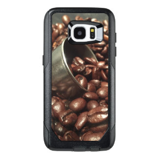 Roasted Coffee Beans With Silver Scoop Photograph OtterBox Samsung Galaxy S7 Edge Case