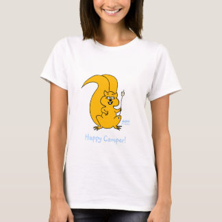 Roasting Marshmallows On A Stick Happy Camper T-Shirt