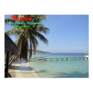 Roatan, Bay Islands, Honduras Postcard