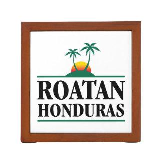 Roatan Honduras Desk Organiser
