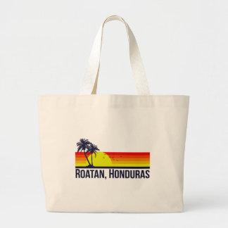 Roatan Honduras Large Tote Bag