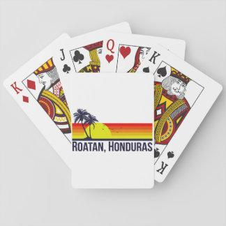 Roatan Honduras Playing Cards