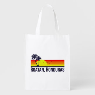 Roatan Honduras Reusable Grocery Bag