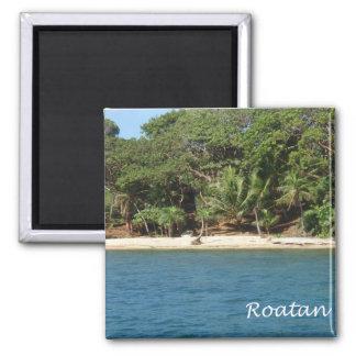 Roatan, Honduras Square Magnet