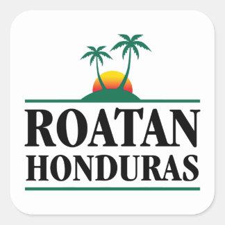 Roatan Honduras Square Sticker