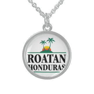 Roatan Honduras Sterling Silver Necklace