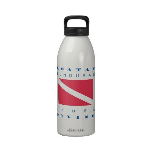 Roatan Honduras Water Bottles