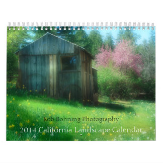 Rob Bohning Photography, 2014 California Calendar