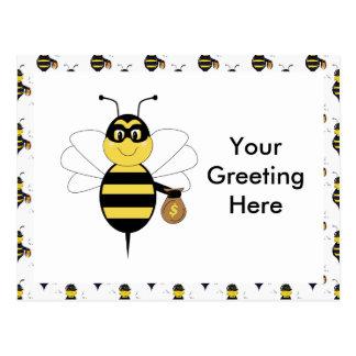 RobBee Bumble Bee Postcard