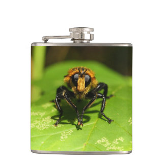 Robber Fly Hip Flask
