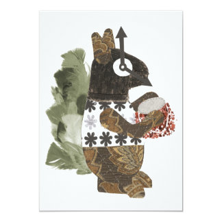 Robber Squirrel Invitations