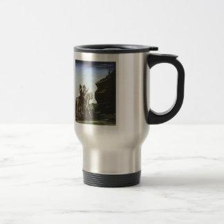 Robbers Getting Ready for a Raid by Niko Pirosmani Coffee Mugs