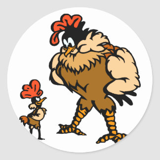 Robbey Rooster Stickers