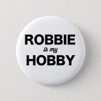 robbie hobby 6 cm round badge