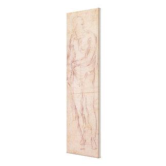 Robbing a Market Girl, 1807 (w/c, bodycolour, penc Gallery Wrap Canvas