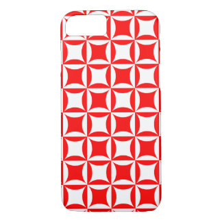 Robbing Peter to Pay Paul Red Pattern iPhone 7 Case