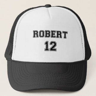 Robert 12 trucker hat