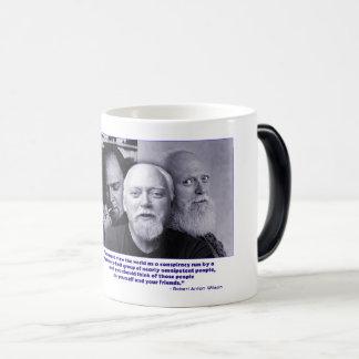Robert Anton Wilson montage Morphing Mug