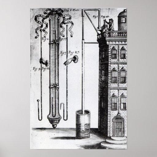 Robert Boyle's development of the water pump Print