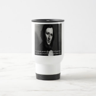 Robert Browning God Perfect Poet Quote Travel Mug