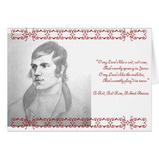Robert Burns Card