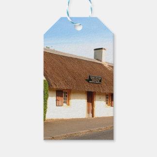 Robert Burns cottage, Alloway, Scotland Gift Tags