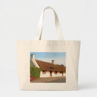 Robert Burns cottage, Alloway, Scotland Large Tote Bag