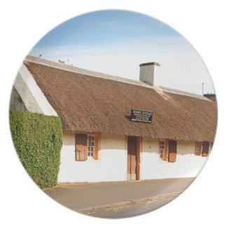 Robert Burns cottage, Alloway, Scotland Plate