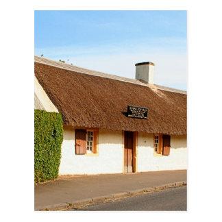 Robert Burns cottage, Alloway, Scotland Postcard