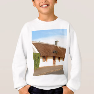 Robert Burns cottage, Alloway, Scotland Sweatshirt
