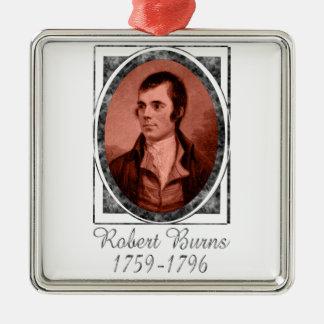 Robert Burns Metal Ornament