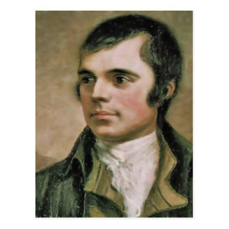 Robert Burns Portrait Postcard