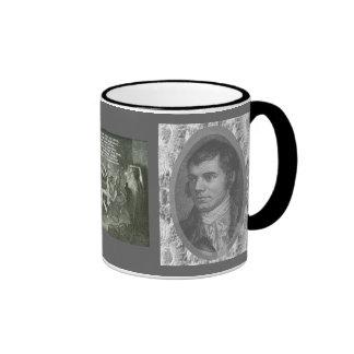 Robert Burns Ringer Mug