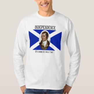 Robert Burns Scottish Independence Flag T-Shirt