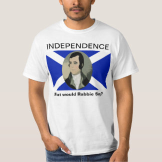 Robert Burns Scottish Independence Tshirt