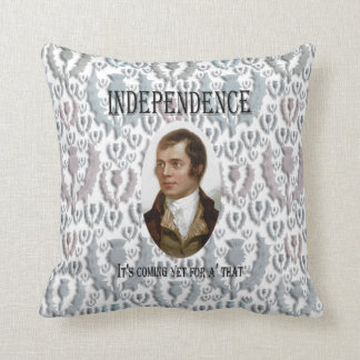 Robert Burns Scottish Thistle Cushion
