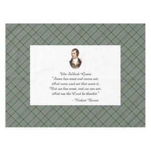 Robert Burns Selkirk Grace Tablecloth