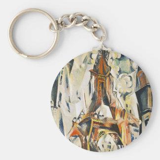 Robert Delaunay Eiffel Tower Key Chain