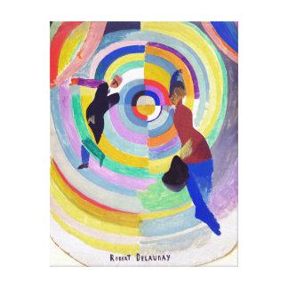 Robert Delaunay Political Drama Canvas Print