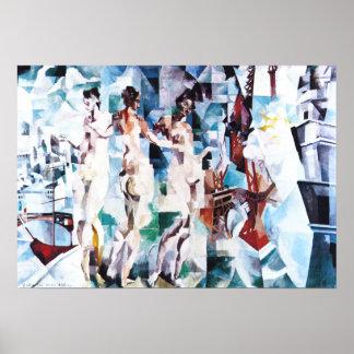 Robert Delaunay The City of Paris Poster