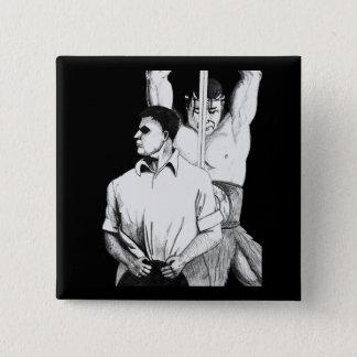 Robert E Howard and Conan Button