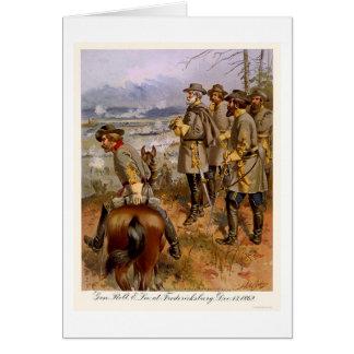 Robert E Lee at Fredericksburg, VA 1862 Greeting Card