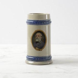 Robert E Lee Beer Stein