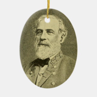 Robert E. Lee Ceramic Ornament