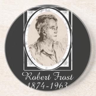 Robert Frost Beverage Coasters
