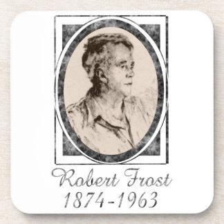 Robert Frost Beverage Coaster