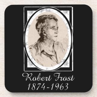 Robert Frost Drink Coasters