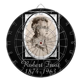 Robert Frost Dartboard With Darts