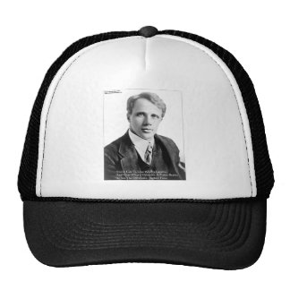 Robert Frost Loveble Hateable Quote Gifts Cards Trucker Hat